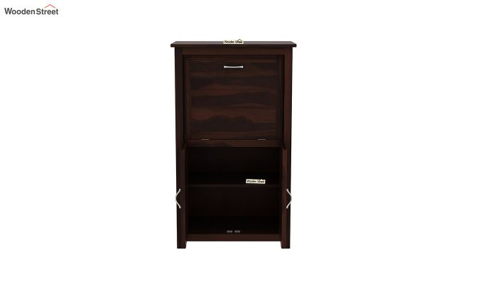 Feldon Study Table Cum Bookshelf (Walnut Finish)-6