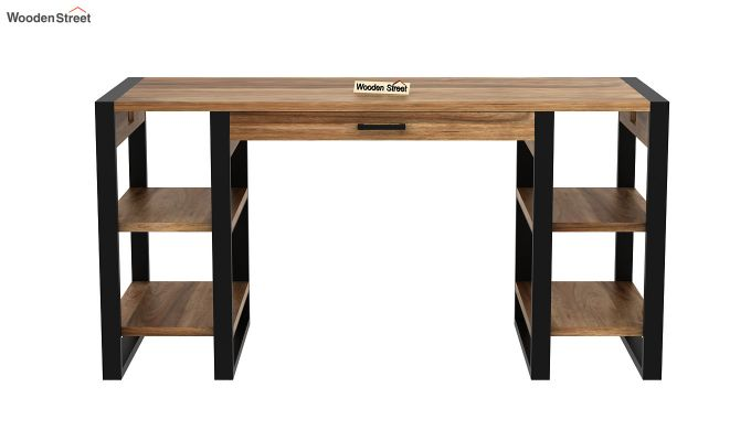 Flex Office Table (Natural Finish)-3