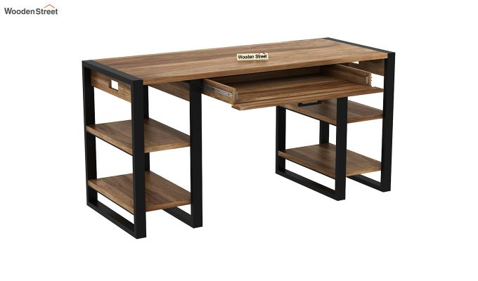 Flex Office Table (Natural Finish)-4