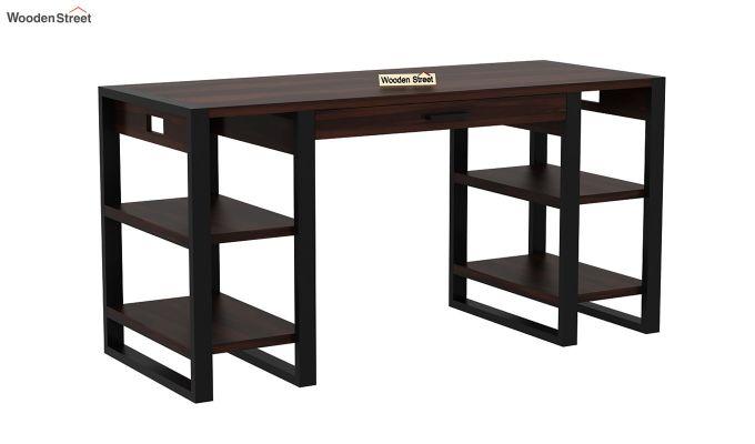 Flex Office Table (Walnut Finish)-2