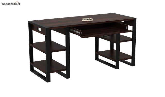 Flex Office Table (Walnut Finish)-4