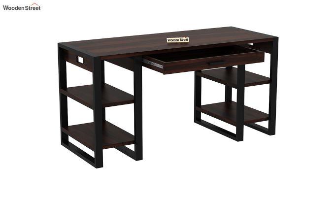 Flex Office Table (Walnut Finish)-5