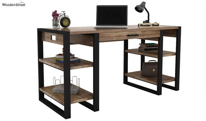 Flex Study Table (Black Finish)-2