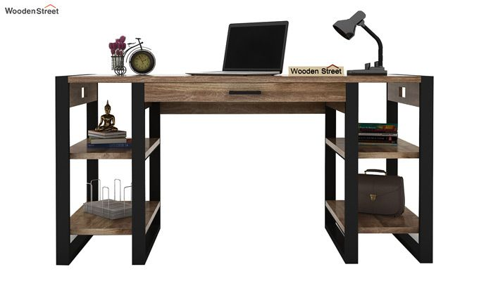 Flex Study Table (Black Finish)-3