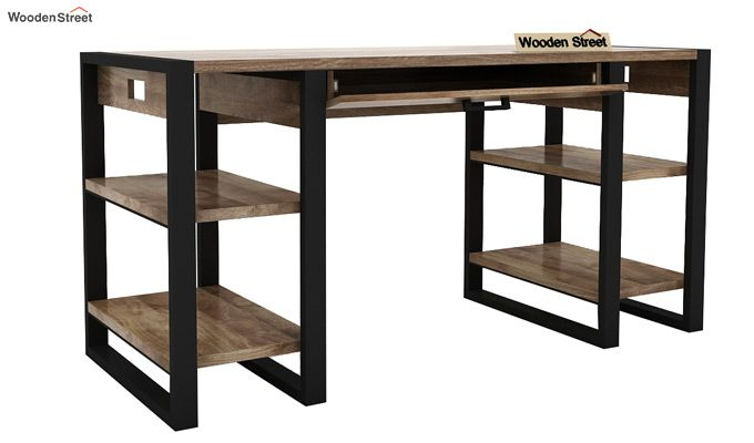 Flex Study Table (Black Finish)-6