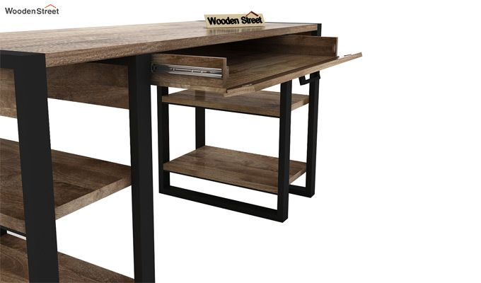 Flex Study Table (Black Finish)-8