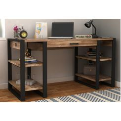 Flex Study Table (Black Finish)