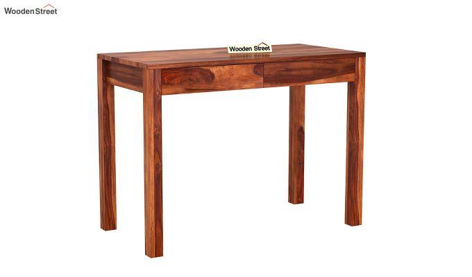 Frodo Study Table Cum Shelf (Honey Finish)-6