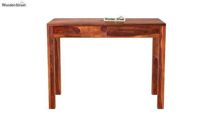 Frodo Study Table Cum Shelf (Honey Finish)-7
