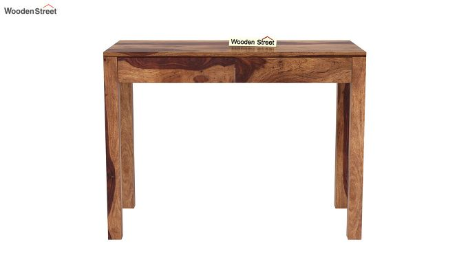 Frodo Study Table Cum Shelf (Teak Finish)-7