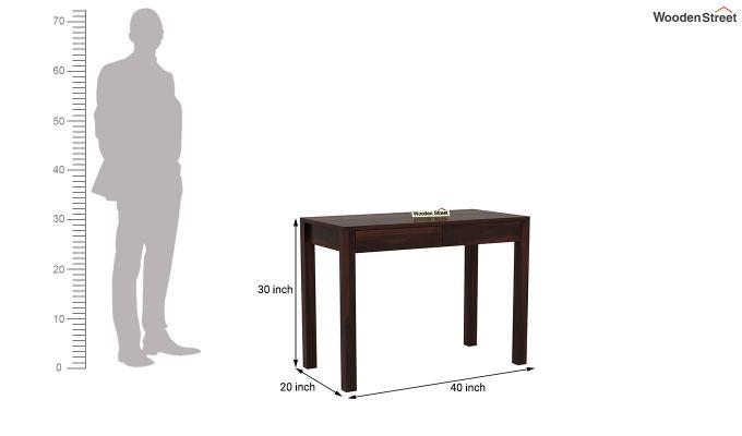 Frodo Study Table Cum Shelf (Walnut Finish)-11
