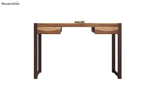 Glaze Study Table (Teak-Walnut Finish)-3