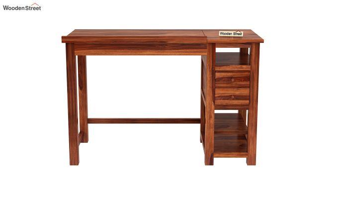 Graham Study Cum Drafting Table (Honey Finish)-4
