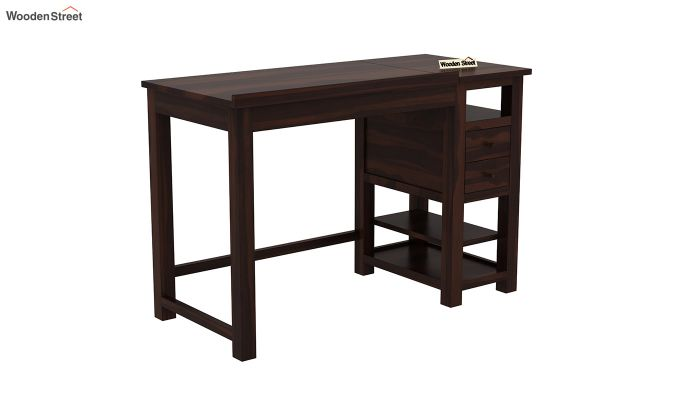 Graham Study Cum Drafting Table (Walnut Finish)-3