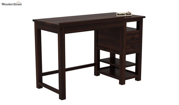 Graham Study Cum Drafting Table (Walnut Finish)-3