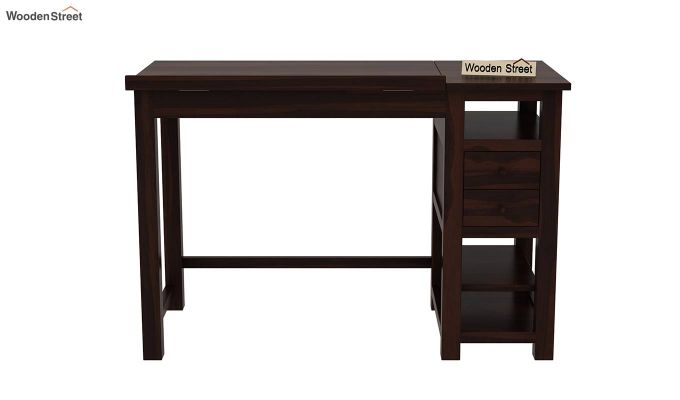 Graham Study Cum Drafting Table (Walnut Finish)-4