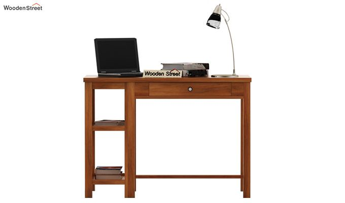 Gregory Study Table (Honey Finish)-2