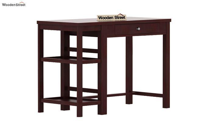 Gregory Study Table (Mahogany Finish)-4