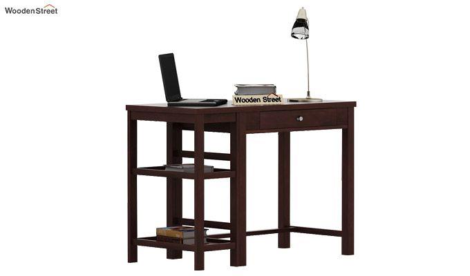 Gregory Study Table (Walnut Finish)-1