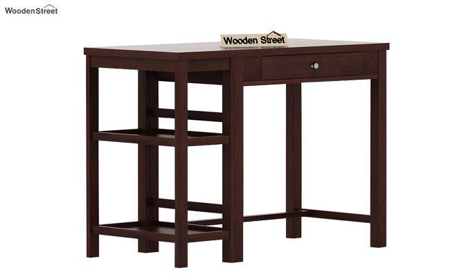 Gregory Study Table (Walnut Finish)-4