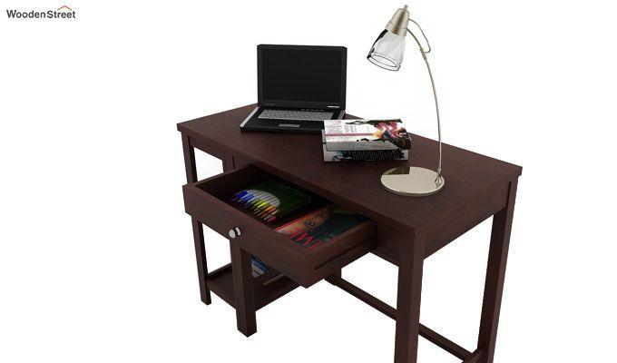 Gregory Study Table (Walnut Finish)-3