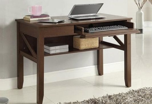 Computer Table Furniture Design: Wooden Computer Tables At 55% OFF