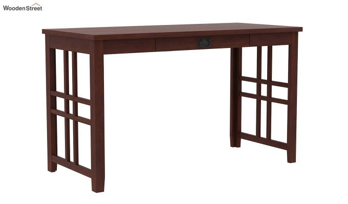 Horsley Computer Table With Storage (Walnut Finish)-7