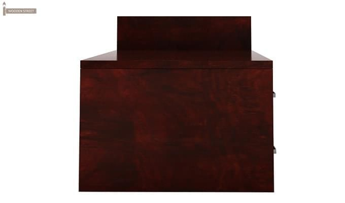 Ineista Low Height Study Table (Mahogany Finish)-7