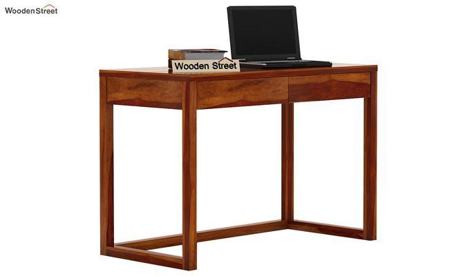 James Study Table (Honey Finish)-2