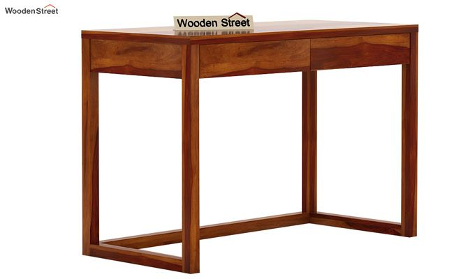 James Study Table (Honey Finish)-4