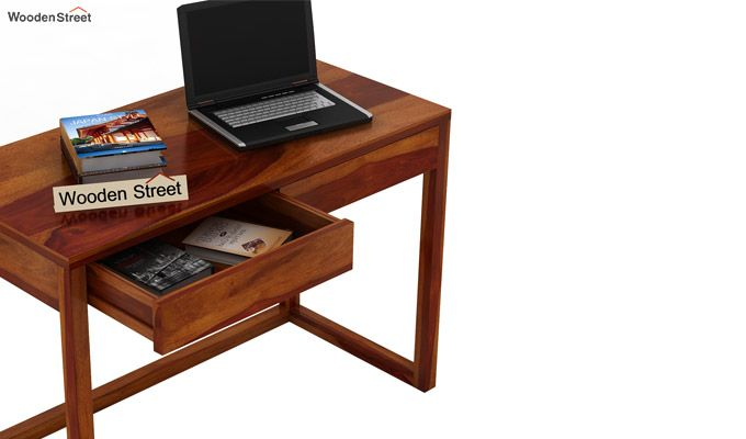 James Study Table (Honey Finish)-5