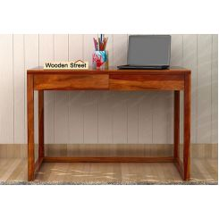 James Study Table (Honey Finish)