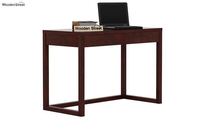 James Study Table (Mahogany Finish)-1