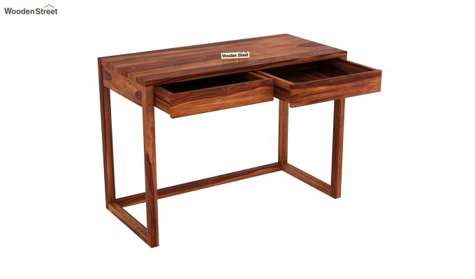 James Kids Study Table (Honey Finish)-4