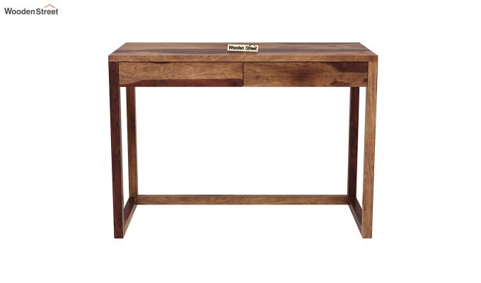 James Study Table (Teak Finish)-3