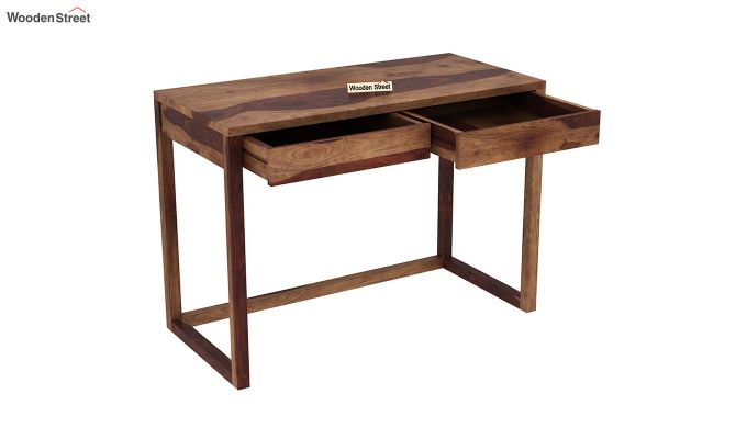 James Study Table (Teak Finish)-4