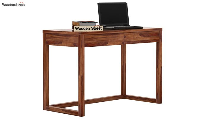 James Study Table (Teak Finish)-1