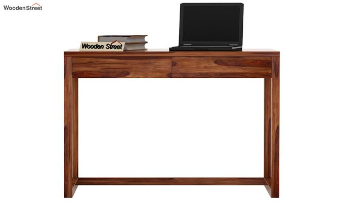 James Study Table (Teak Finish)-2