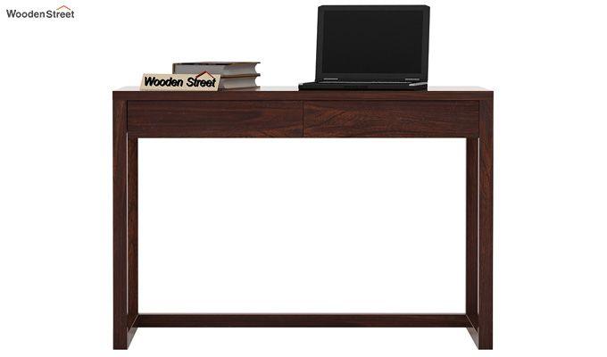 James Study Table (Walnut Finish)-2