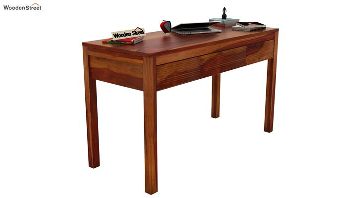 Jeremy Study Table (Honey Finish)-1