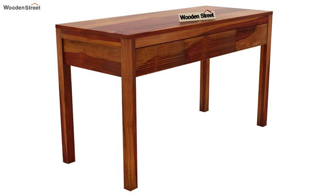Jeremy Study Table (Honey Finish)-3