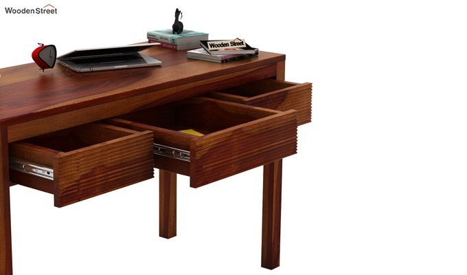 Jeremy Study Table (Honey Finish)-4