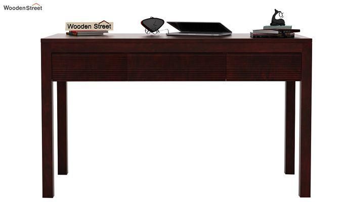 Jeremy Study Table (Mahogany Finish)-3
