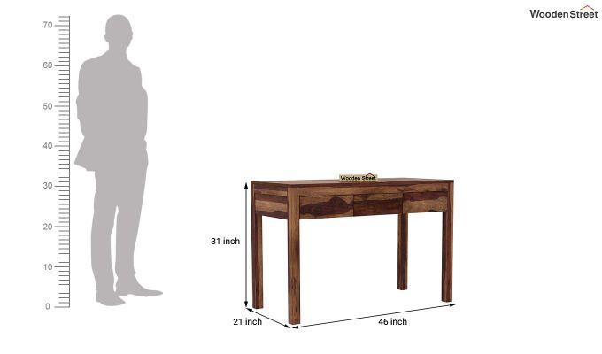 Jeremy Study Table (Teak Finish)-5