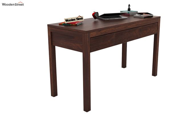 Jeremy Study Table (Walnut Finish)-1