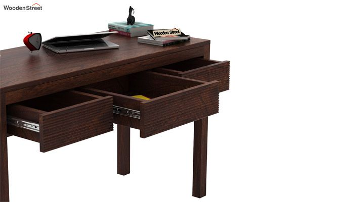 Jeremy Study Table (Walnut Finish)-4