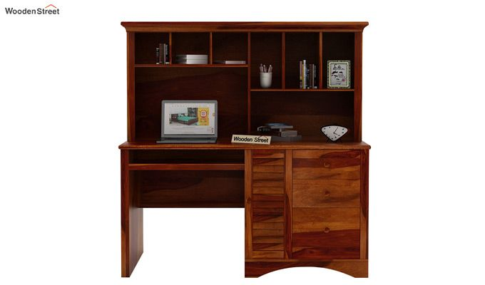 Jerold Study Table (Honey Finish)-2