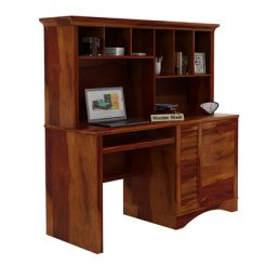 Jerold Study Table (Honey Finish)