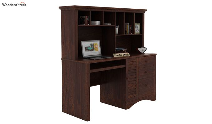 Jerold Study Table (Walnut Finish)-2