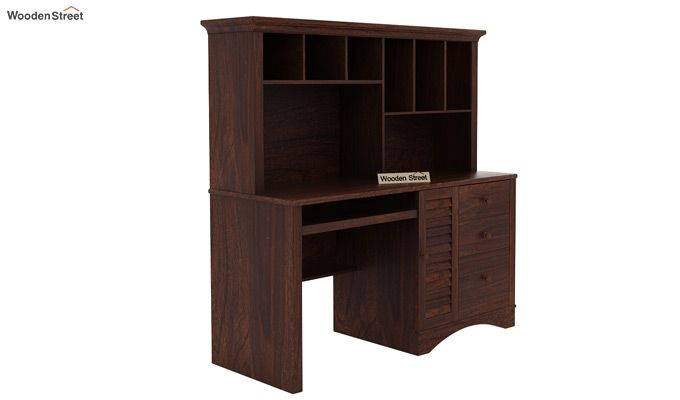 Jerold Study Table (Walnut Finish)-4